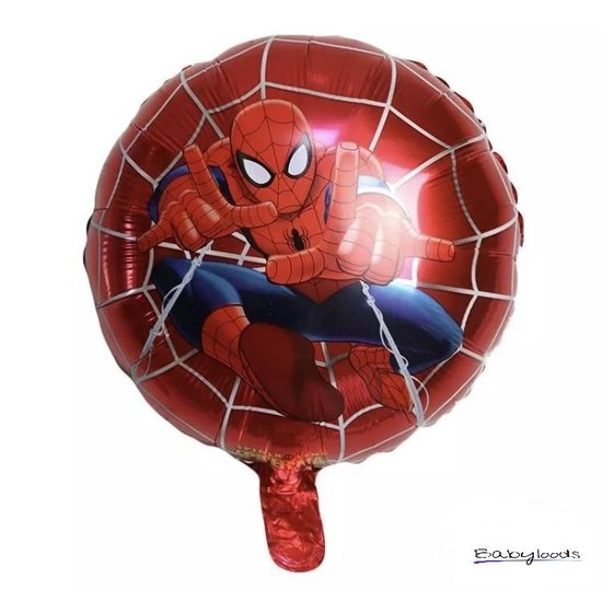 Spiderman folieballon - helium - 2 stuks