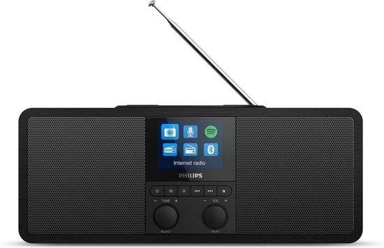 Philips TAR8805/10 radio Internet Digitaal Zwart