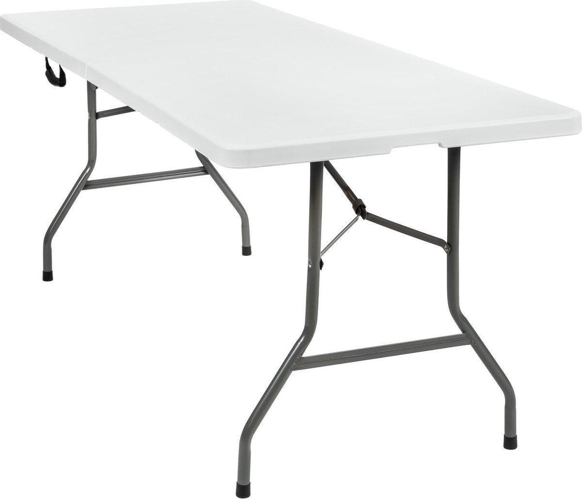 Campingtafel, vouwtafel 180 x 70 cm PVC