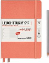 Leuchtturm1917 A5 Medium Weekly Planner & notitieboek 2020/2021 (18 mnds) hardcover Bellini