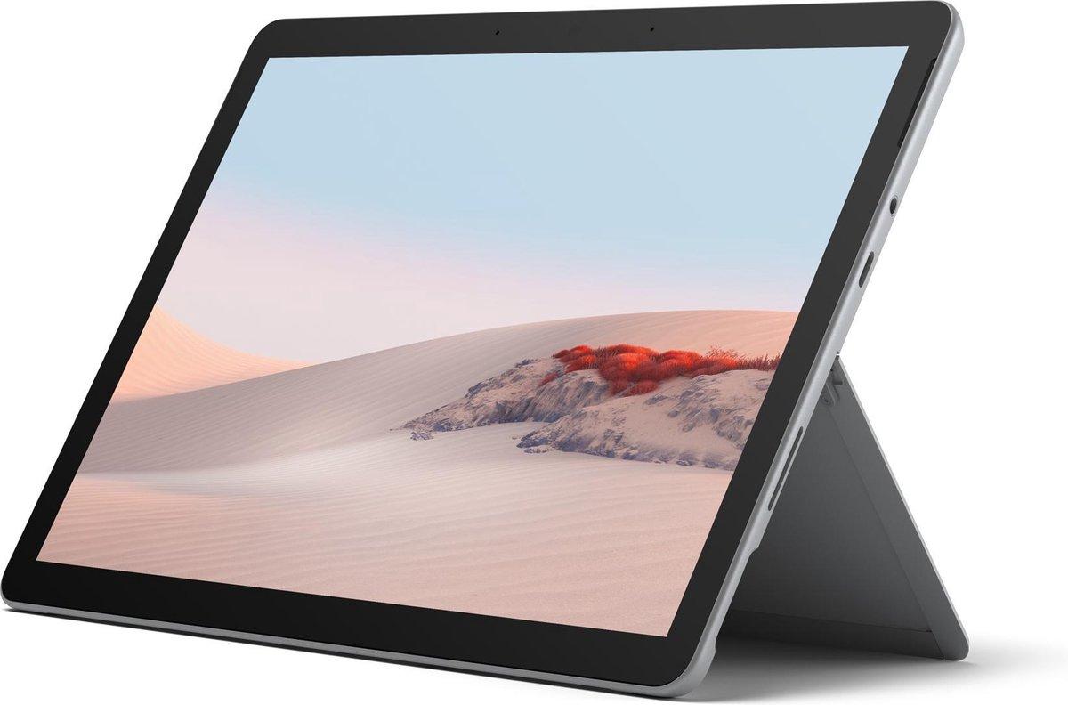 Microsoft Surface Go 2 26,7 cm (10.5) Intel® Core™ M 8 GB 128 GB Wi-Fi 6 (802.11ax) 4G LTE Zilver Windows 10 Home in S mode