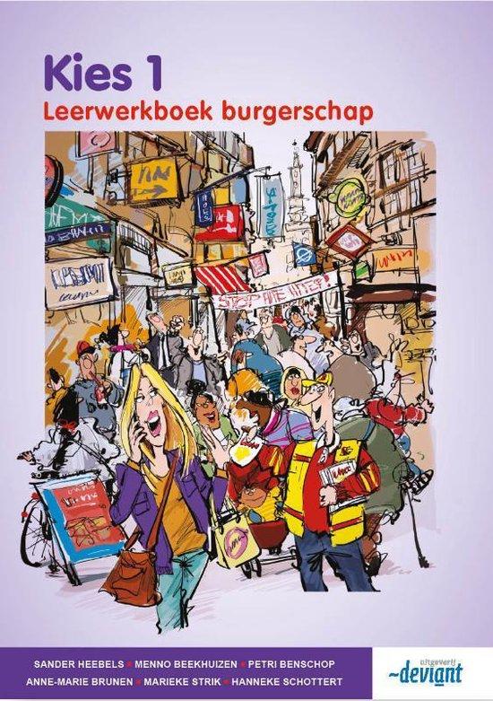 Kies 1 - Burgerschap - Leerwerkboek - Sander Heebels   Fthsonline.com