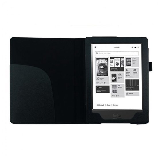 "Goodline® - Kobo Aura HD (6,8"") Soft Cover Hoes / Sleepcover - Zwart"