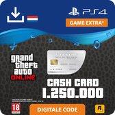 GTA V - digitale valuta - 1.250.000 GTA dollars Great White Shark - NL - PS4 download