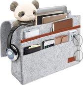 LuxerLiving Organizer Bed Bureau Bank - Bedside Pocket - Opbergzak - Opbergen - Vilt