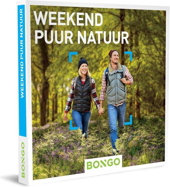 Bongo Bon Nederland - Weekend Puur Natuur Cadeaubon - Cadeaukaart cadeau voor man of vrouw | 361 hotels in de natuur