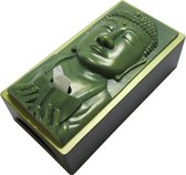 Rotary Hero Boeddha Tissue Box Cover - Tissuehouder - Groen
