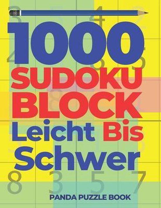 1000 Sudoku Block Leicht Bis Schwer