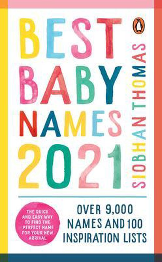 Boek cover Best Baby Names 2021 van Siobhan Thomas (Paperback)