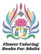 Flower Coloring Books For Adults