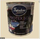 Théodore Protex Sol | Vloerverf Zijdeglans - binnen/buiten - WIT 2.5L