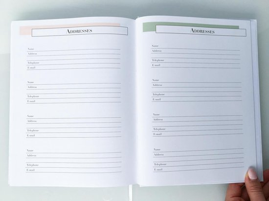 Chick Story Life Planner, Agenda and Journal in one – Undated