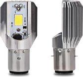 H6 LED Lamp - LED Verlichting - Koplamp/Mistlamp - Auto/Scooter/Motor - BA20D - 12V - 4.2 Watt - 1000 Lumen - 6000 K - Universeel