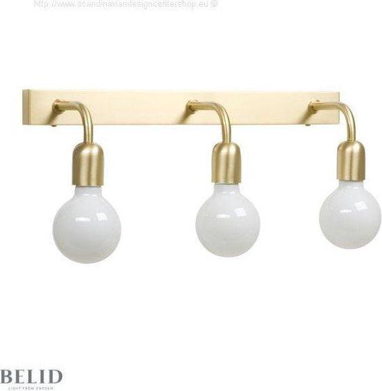 Bol Com Regal Wandlamp 3 Mat Zwart Badkamer