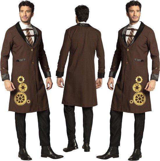 Kostuum steampunk jas