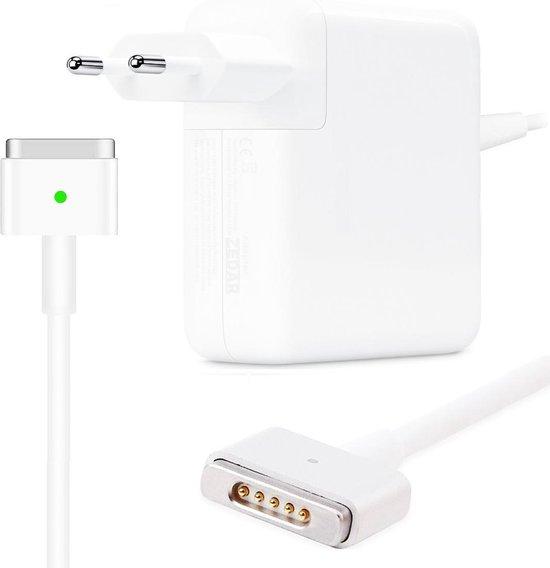 """Oplader geschikt voor MacBook Air type MagSafe 2 45W - A1436 MacBook Air 11""""/13"""" Adapter 45 watt van Zedar"""