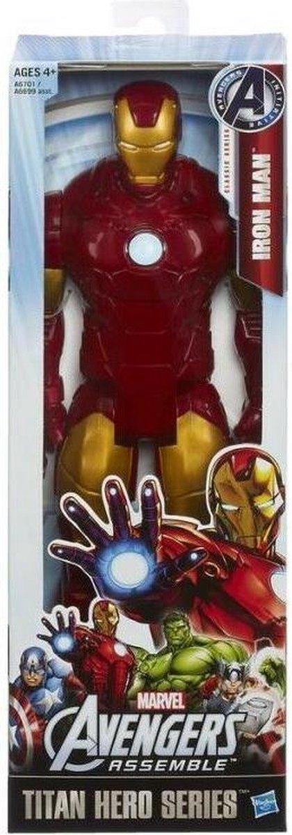 Hasbro Iron Man Titan Hero Series