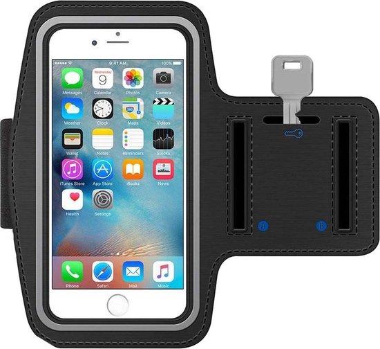 MMOBIEL Sport / Hardloop Armband geschikt voor iPhone 11 Pro / XS / X / 8 / 7 / 6S / 6 (Zwart)