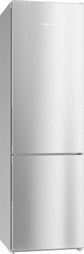 Koelkast: Miele KFN 29133 D RVS - Koel-vriescombinatie - Zilver, van het merk Miele
