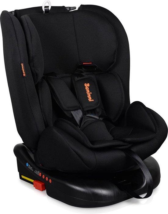 Product: Baninni autostoel Monza 360° met isoFix Zwart (0-36kg) - Groep 0-1-2-3 autostoel voor kinderen van 0 tot 12 jaar, van het merk Baninni