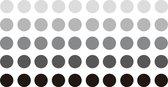 Gekleurde Ronde Stickers / Stickervellen / Bullet Journal Stickers   8mm   250x   SUMATRA