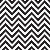 Canvas Corp printed paper 30,5x30,5cm black white chevron
