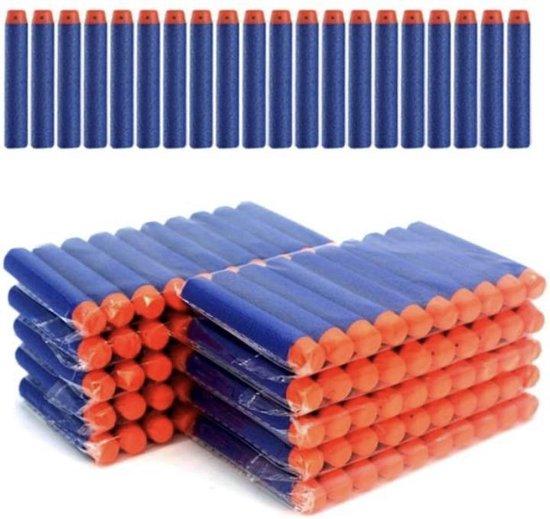 50 Pijltjes/Darts/Bullets geschikt voor Nerf Blasters - Speelgoedblaster pijltjes Blauw