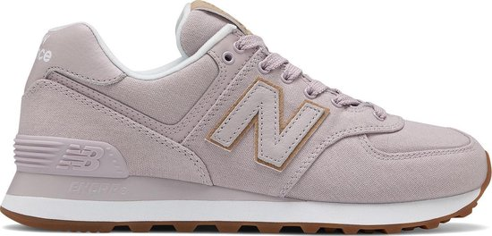 bol.com | New Balance - Dames Sneakers WL574CVA - Roze - Maat 40