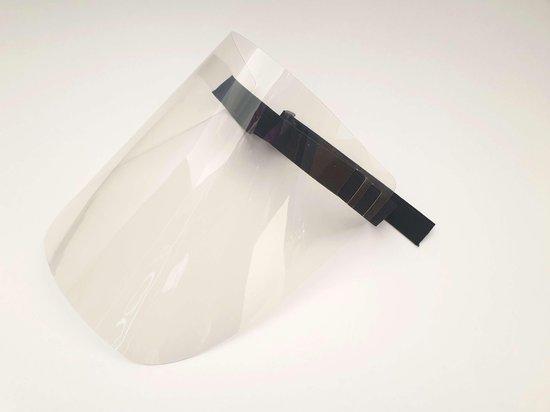 Gelaatsbescherming - Gelaatsscherm - Spatscherm - FaceShield - Gezichtsbescherming - Hygiëne masker - Gecertificeerd PBM model GB-25