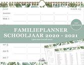 Familieplanner - Schooljaar 20-21- A4+ Formaat- 5 personen- week p/p- spiraal D1