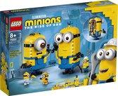 LEGO Minions Minions-figuren van Stenen en hun Schuilplaats - 75551