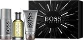 Hugo Boss Bottled Giftset - 100 ml eau de toilette spray + 150 ml deodorant spray + 100 ml showergel - cadeauset voor heren