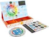 Magnetische Leerklok - Imaginarium - Spelenderwijs Leren Klokkijken - Klok voor Kinderen