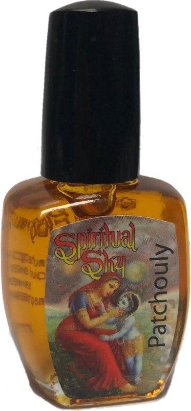 Patchouli parfum Dames - Heren - Patchouly -  - Natuurlijke Parfum olie - 6,2 ml