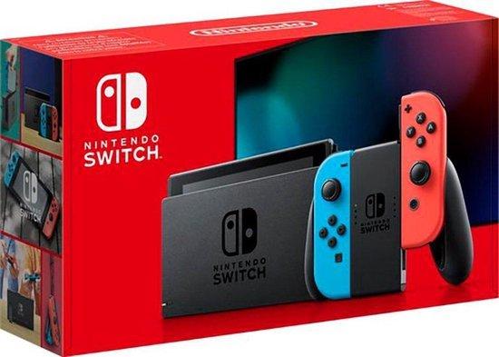 Nintendo Switch Rood /Blauw - Verbeterde accuduur - nieuw model - Nintendo