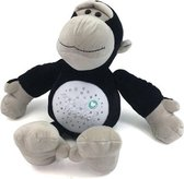MiniWal Orang-oetan Projectielamp - Knuffeldier Projector Lamp met Muziek - Nachtlampje Kinderen - Kinderkamer & Babykamer - Nachtlamp - Babylamp - Kinderlamp - Knuffel Slaaplamp - Baby & Kind