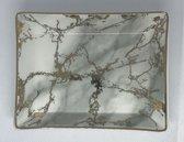 Marmeren Tray opbergtree dienblad