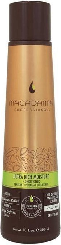 Macadamia Ultra Rich Moisture Vrouwen Professional hair conditioner 300ml