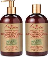 SheaMoisture Manuka Honey & Mafura Oil Intensive Hydration Shampoo & Conditioner | Set of 2 | 13 fl. Oz. each