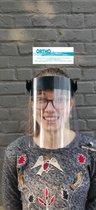 Afbeelding van Spatmasker Universeel, Herbruikbaar & Afwasbaar Gezichtsmasker | Beschermkap voor gezicht | Spatscherm | Face Shield | Spatkap | Gelaatscherm | gezichtscherm