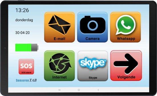 Senioren Tablet (op basis van een Samsung Tablet)