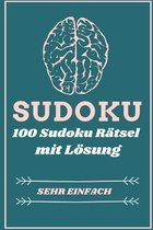 Sudoku 100 Sudoku Ratsel Mit Loesung Sehr Einfach
