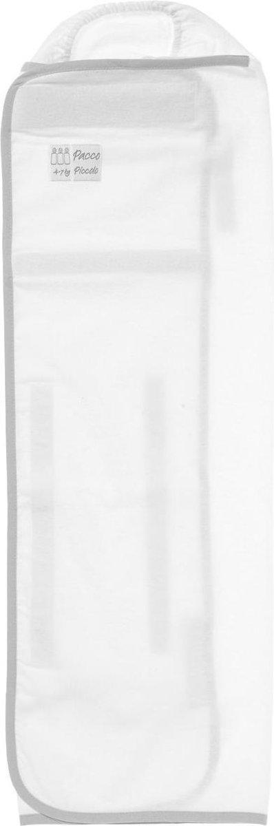 Pacco Piccolo Inbakerdoek - 4 tot 7 kg - wit