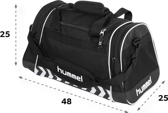 Hummel Sheffield Sporttas Unisex - Zwart - XS