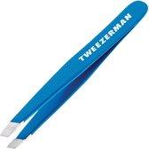 Tweezerman - Mini Slant Tweezer - Bahama Blue - Pincet