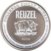 Reuzel - Hollands Finest Pomade Firmly Fixative Pomada On Water Base Black 113G