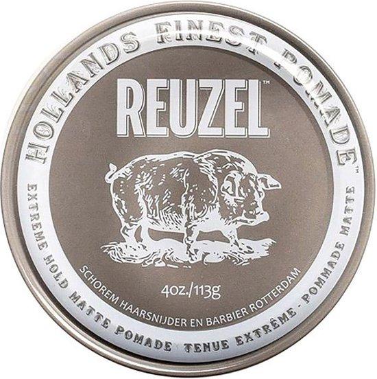 Reuzel - Extreme Hold Matte Pomade - 113 gr