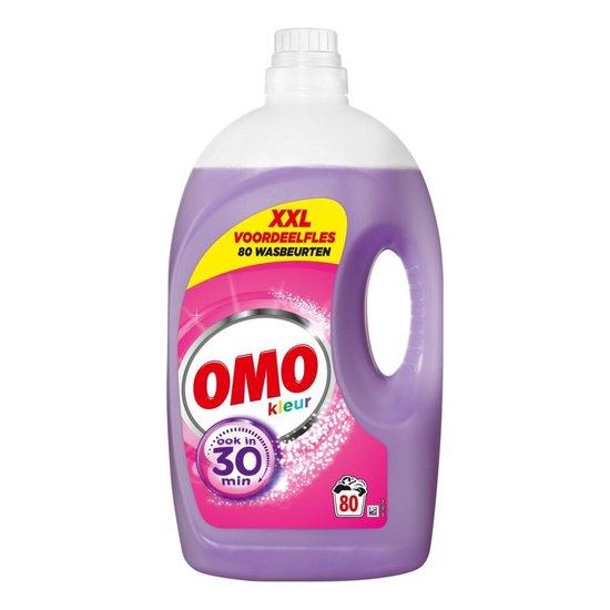 Omo Kleur Vloeibaar Wasmiddel - 80 wasbeurten - Voordeelverpakking