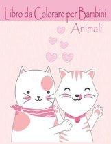 Animali Libro da Colorare per Bambini