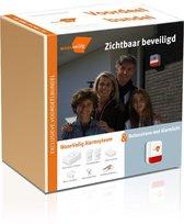 Voordeelbundel: WoonVeilig Alarmsysteem + Buitensirene met Alarmlicht - Nu met € 99,- Prijsvoordeel